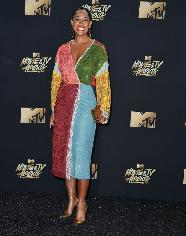 Tracee Ellis Ross at the 2017 MTV Movie And TV Awards at The Shrine Auditorium on 7 May 2017 in Los Angeles,