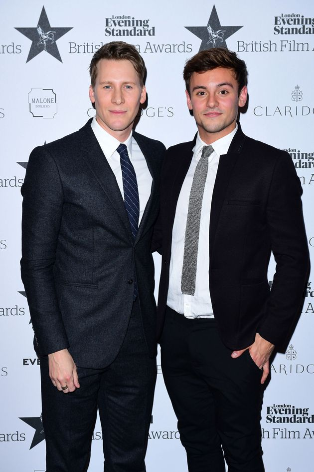 Tom Daley Shares Adorable Wedding Picture From His Marriage To 'Love Of My Life' Dustin Lance