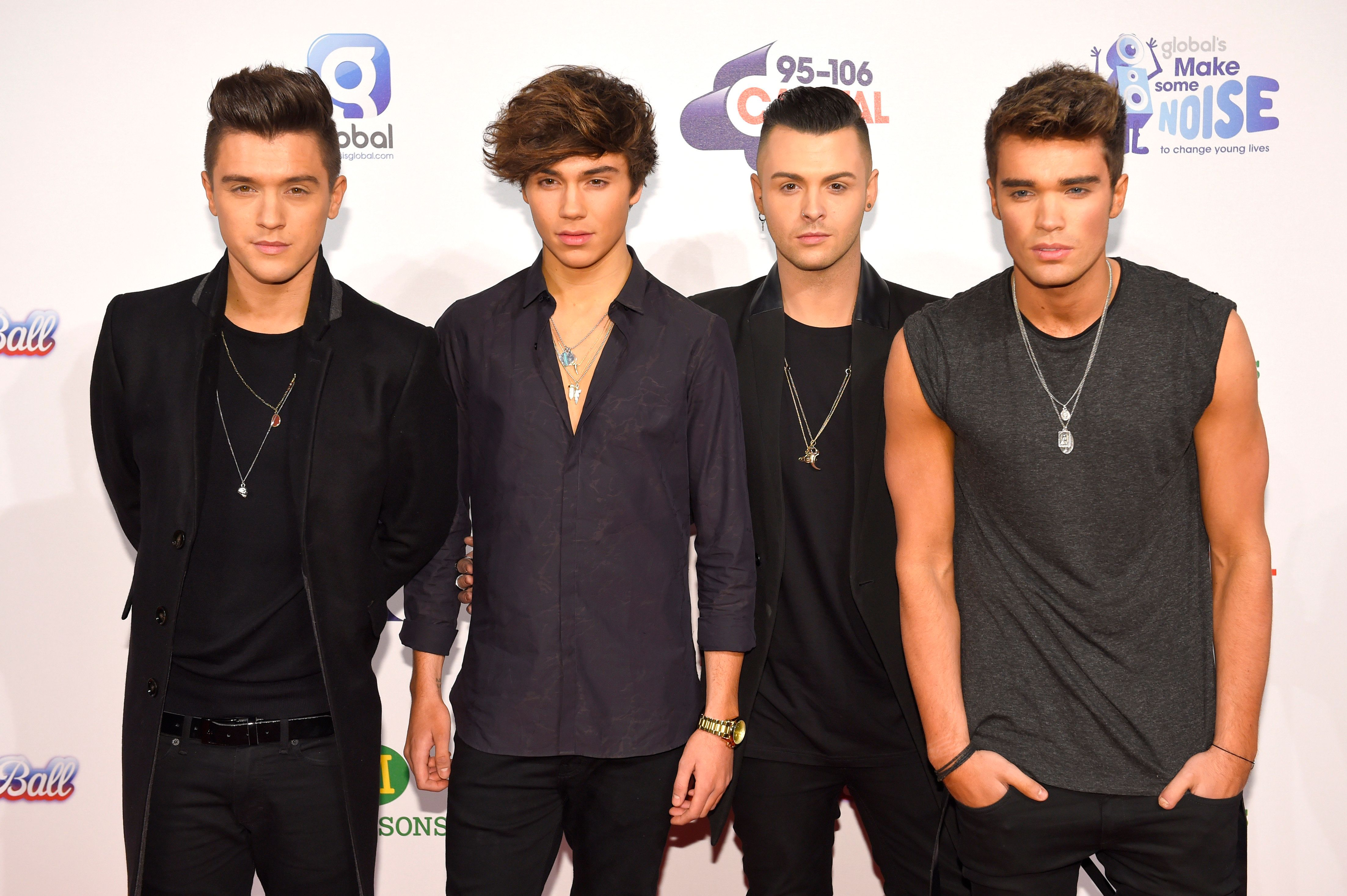 George with his former Union J