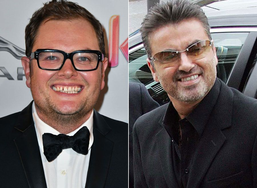 Alan Carr and George