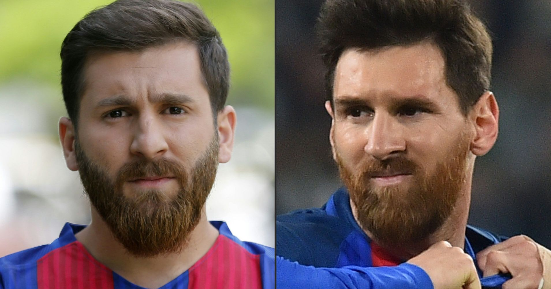 lionel messi has a serious look alike huffpost. Black Bedroom Furniture Sets. Home Design Ideas