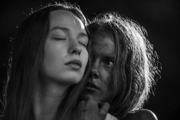 A still from 'November' by Rainer Sarnet, with Rea Lest, left and Jörgen Liik