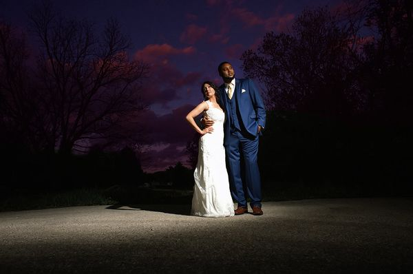 """Dwonne and Samantha married in Janesville, Wisconsin."" --<i>Amanda Reseburg</i>"