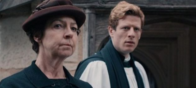 Mrs Maguire (Tessa Peake-Jones) is the only character based on a real-life person in James Runcie's
