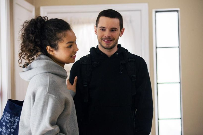 <em>Jessica Sula plays the beloved of the married couple's son Tyler Ross in this delicious inter racial and inter generation