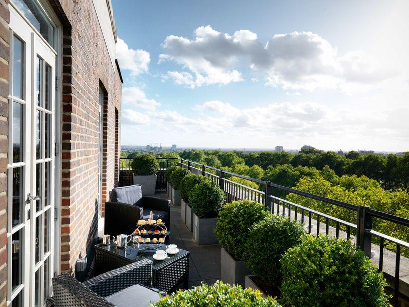 Knightsbridge Penthouse Balcony