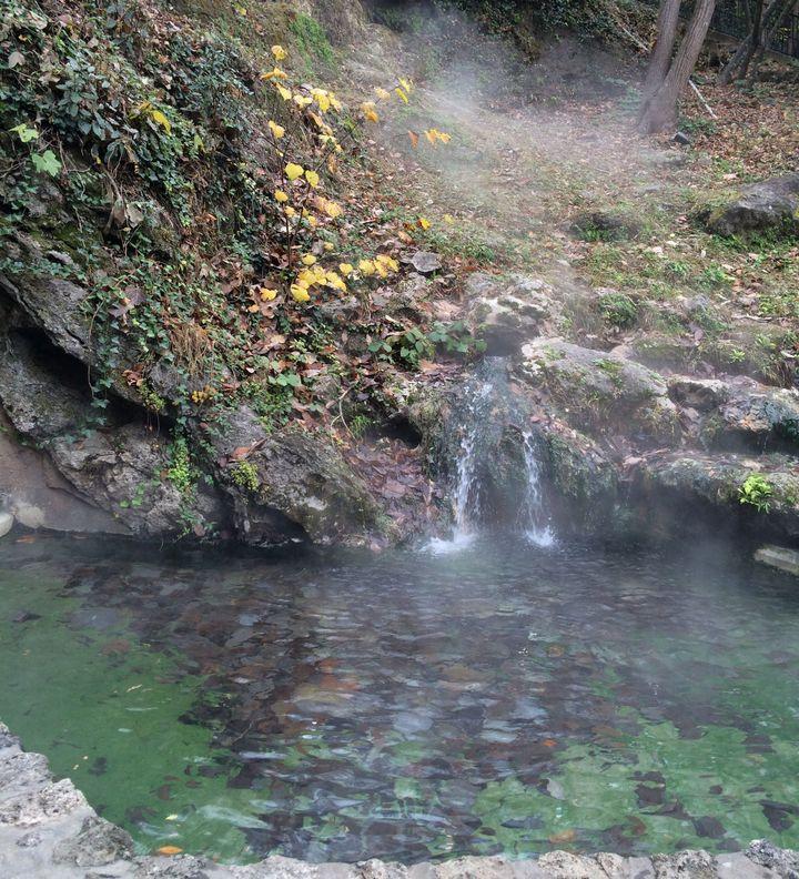<p>Geothermal hot springs </p>