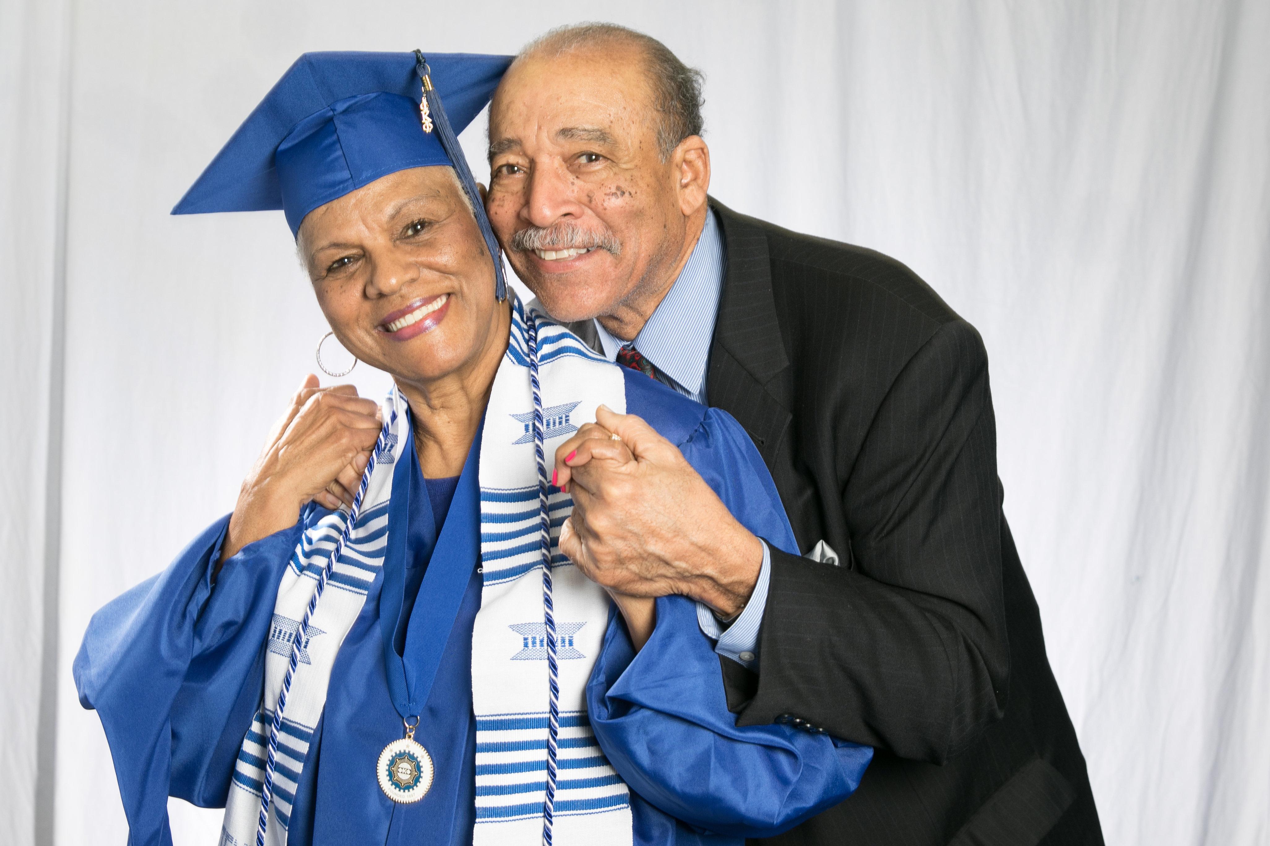 Now, both Darlene and John can call themselves TSU alumni.