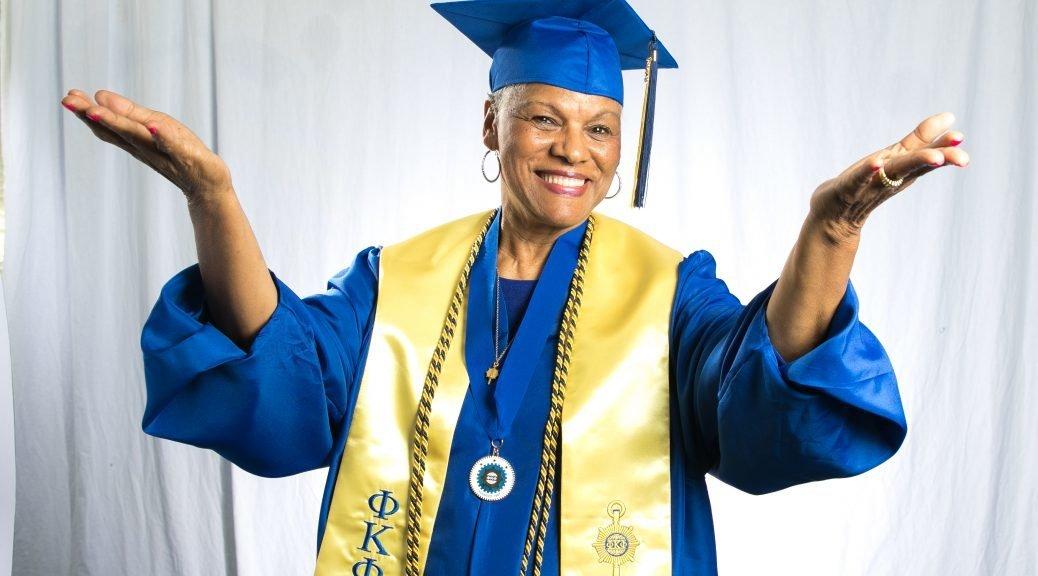 Darlene Mullins, 72, graduated summa cum laude from Tennessee State University after a nearly half-centurylonghiatus.