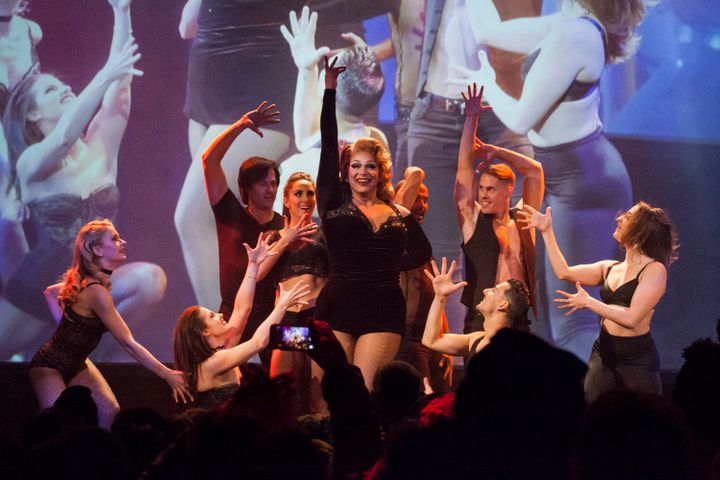 """In March, Alexis Michelle performed the Broadway classic, """"All That Jazz,"""" at the """"RuPaul's Drag Race"""" premiere party."""