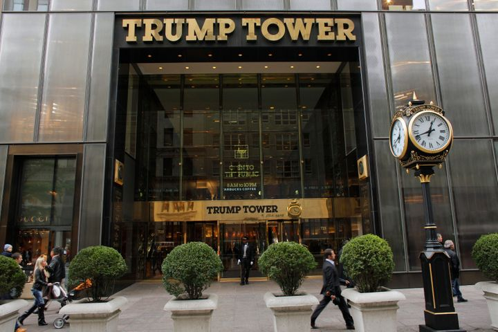 Trump Tower in NYC.