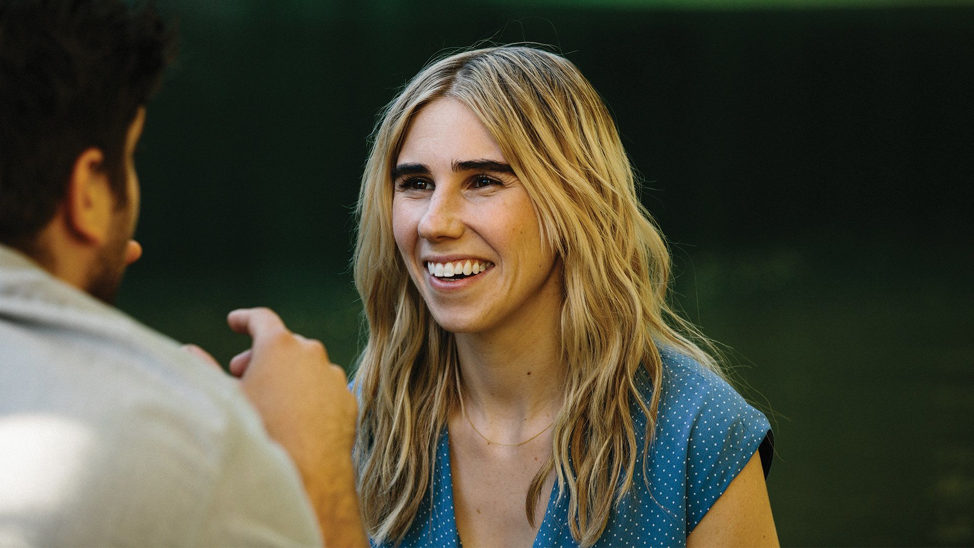 Zosia Mamet as Diana in THE BOY DOWNSTAIRS. Photo by Jon Pack.