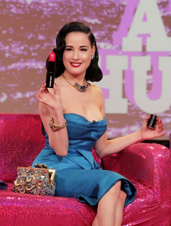 f24f0e143d38 Dita Von Teese Bares It All On  Hey Qween