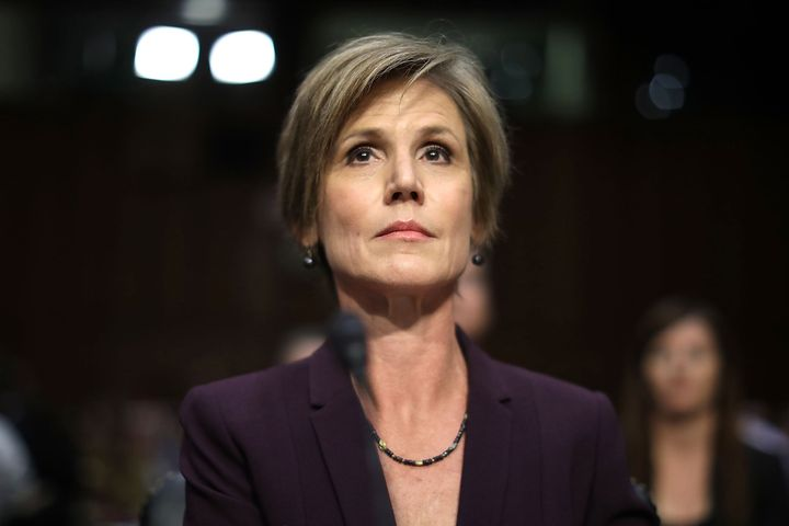 Sally Yates at Congressional hearing