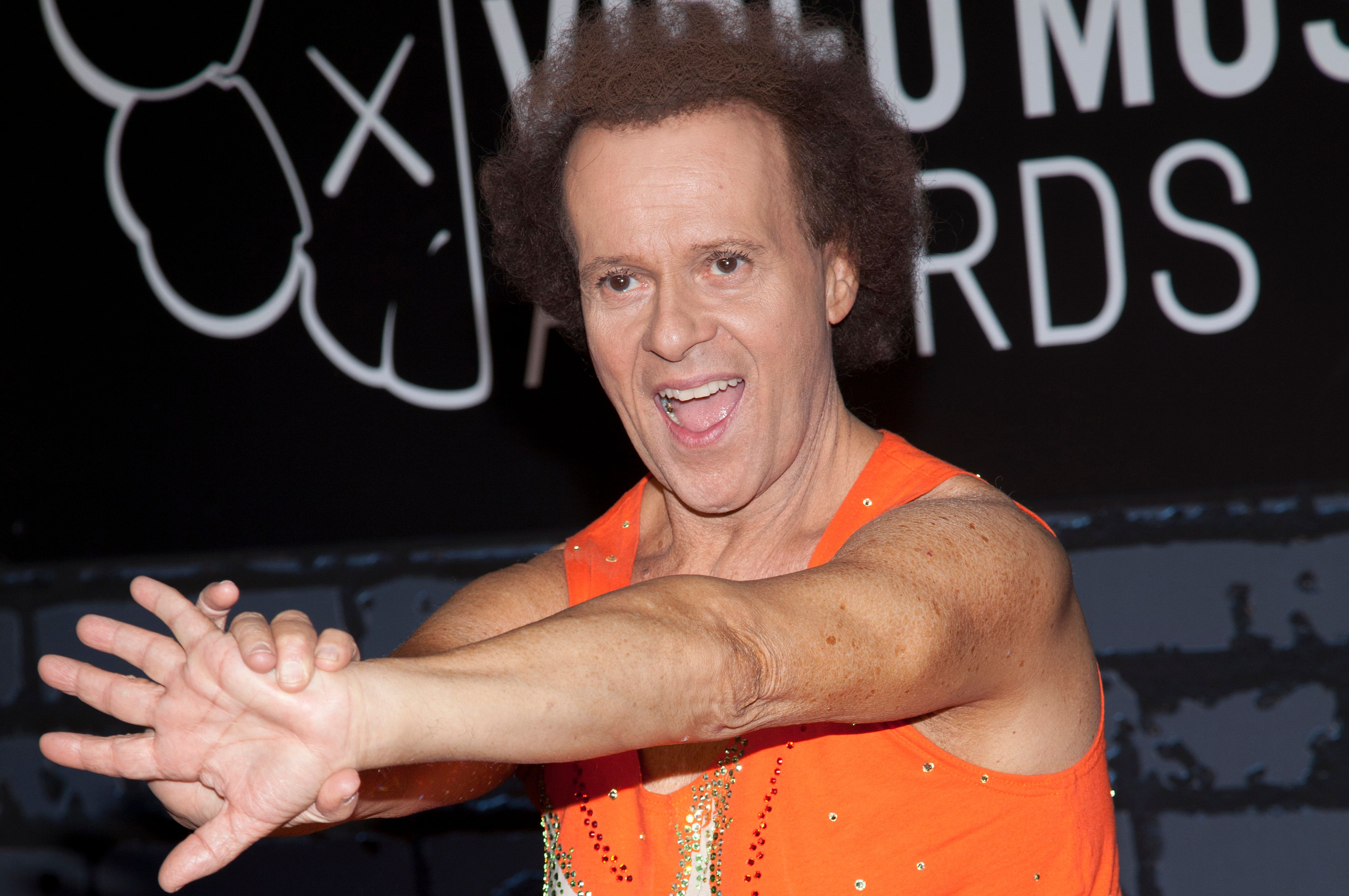 Richard Simmons attends the 2013 MTV Video Music Awards at the Barclays Center in New York City. �� LAN (Photo by Lars Niki/Corbis via Getty Images)