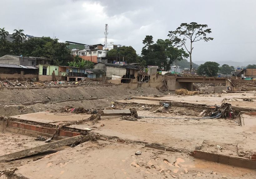 Flooding and mudslides devastated the small Colombian city of Mocoa after unseasonably strong rains.