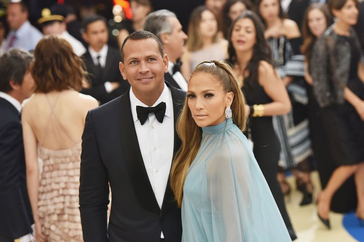 "Easily one of the <a href=""http://www.huffingtonpost.com/entry/best-dressed-couples-2017-met-gala_us_59088bb7e4b05c397682b544"">best-dressed couples</a> that night."