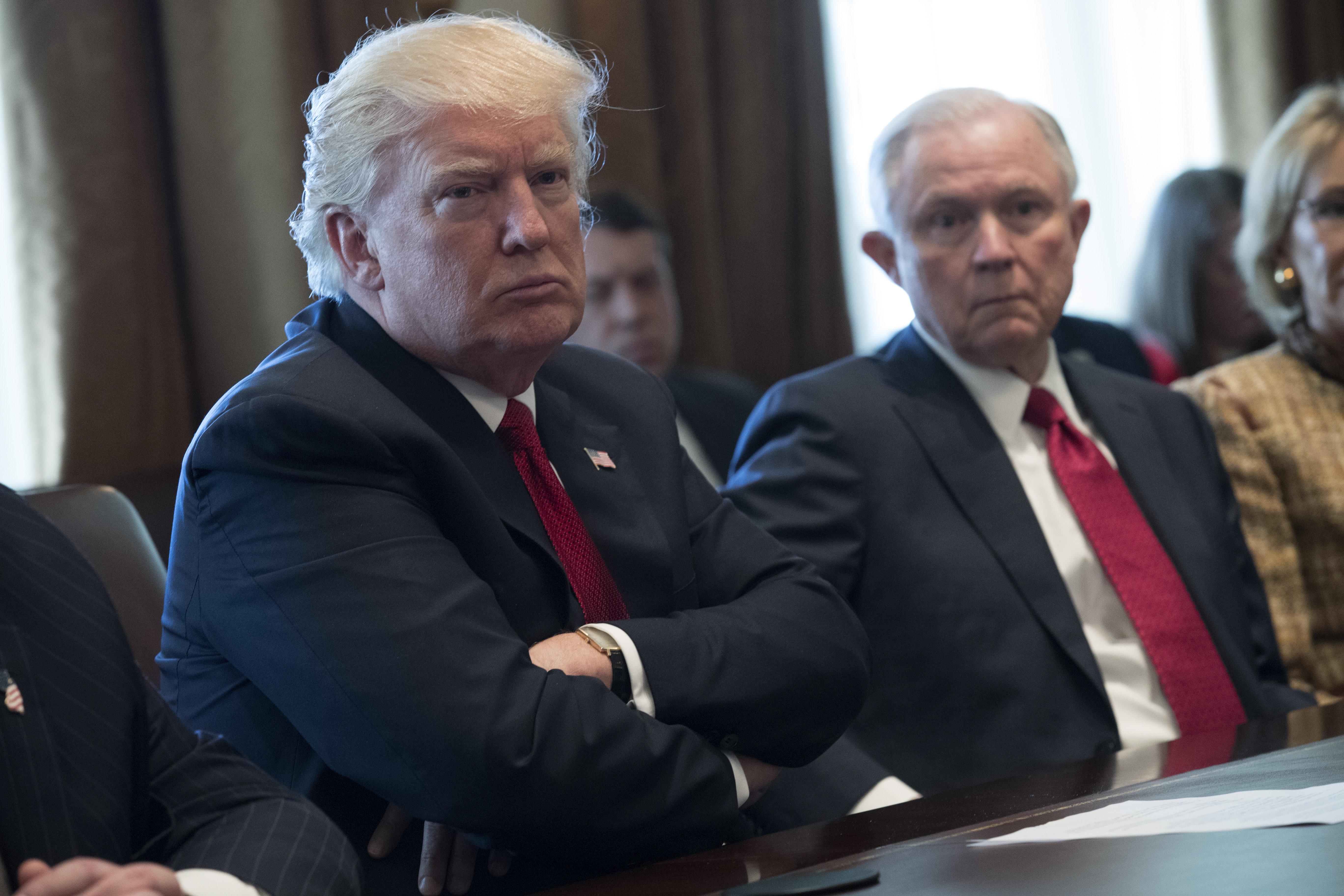 Trump Administration Cites Segregation-Era Ruling To Defend Its Travel