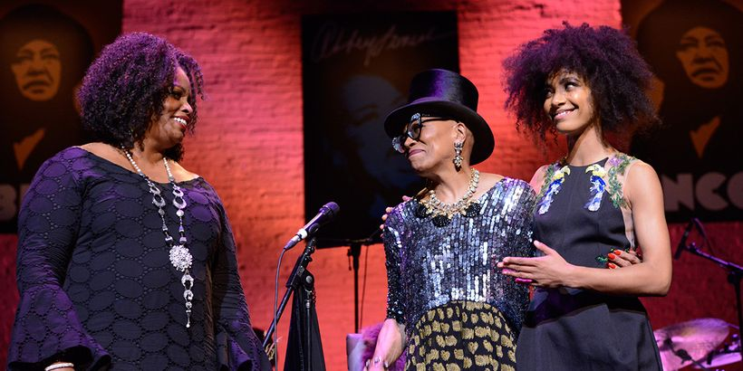Dianne Reeves, Dee Dee Bridgewater and Esperanza Spalding share the stage for their tribute performance to jazz singer Abbey