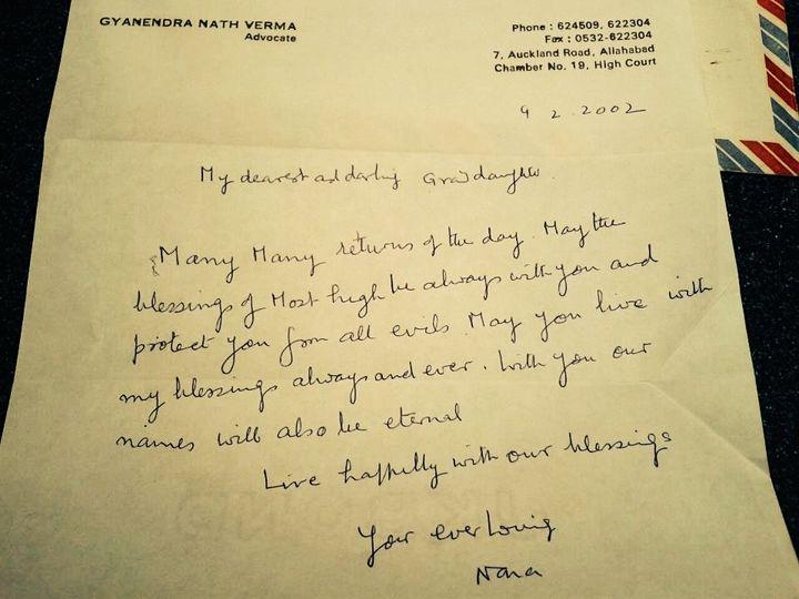 <p><em>Nana</em>'s <em>letter dated February 9, 2002</em></p>