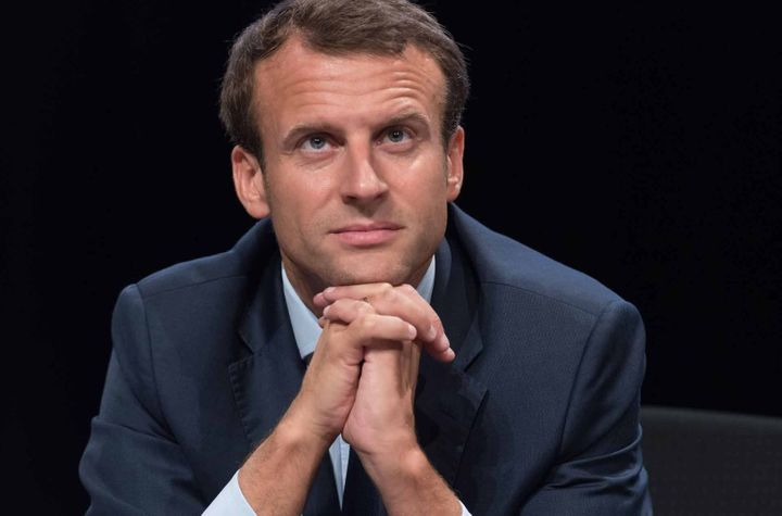 France's newly elected 39-year-old president, Emmanuel Macron