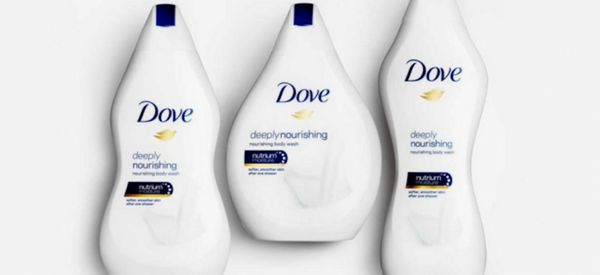 Dove Matched Body Wash Bottles To Women's Body Types And The Internet Isn't Happy