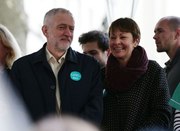 Jeremy Corbyn and Caroline Lucas will not support each other in certain constituencies at the