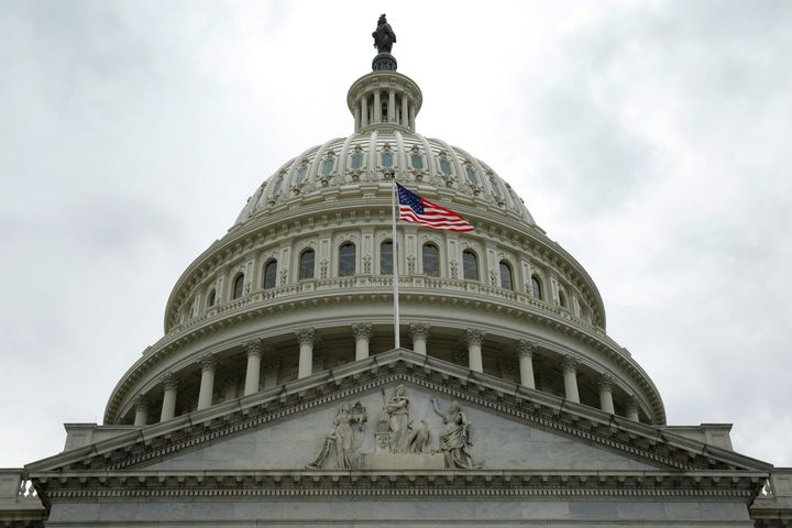 U.S. Capitol is seen after the House approved a bill to repeal major parts of Obamacare and replace it with a Republican heal