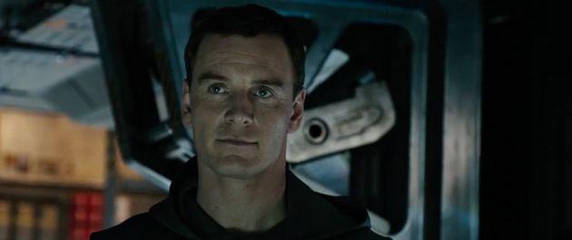 Michael Fassbender stars in 'Alien: Covenant', in cinemas this