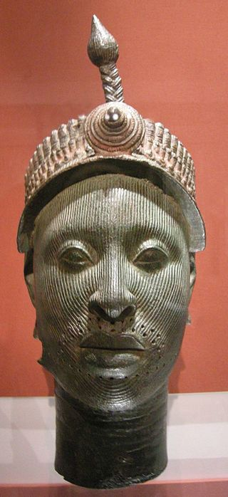 """Bronze Head from Ife."""