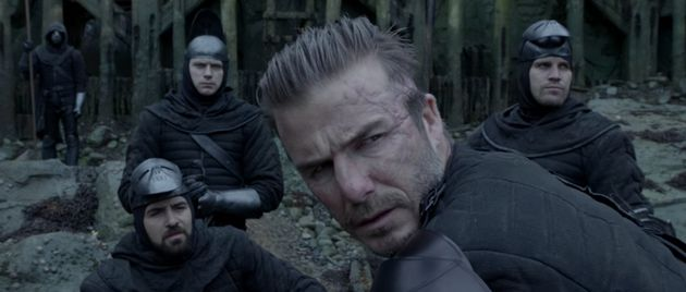 David Beckham appears in the film as
