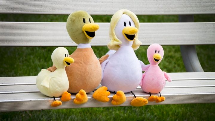 The Fowl Language characters now come in plush form.