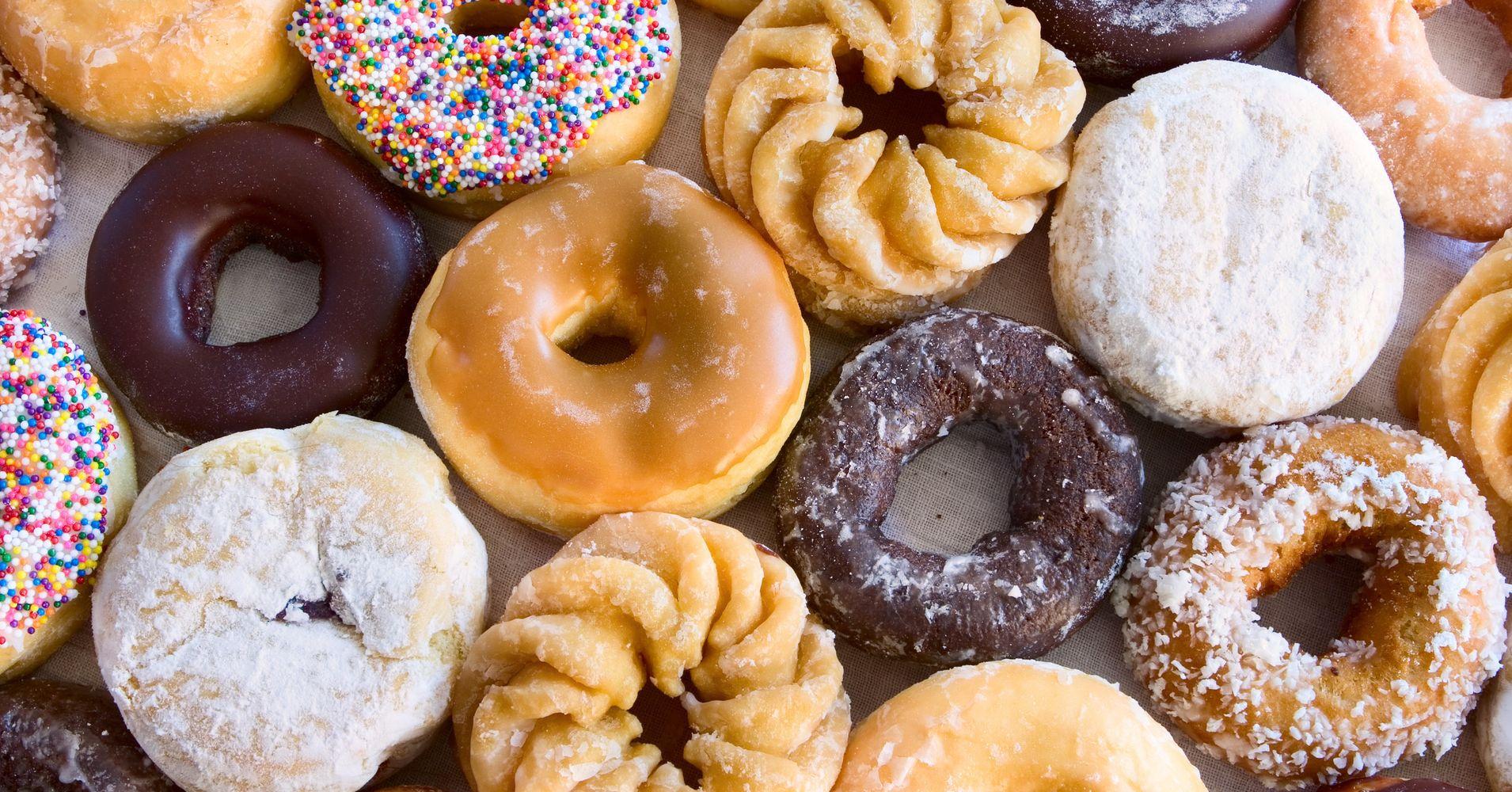 Sugar In Old Fashioned Donut