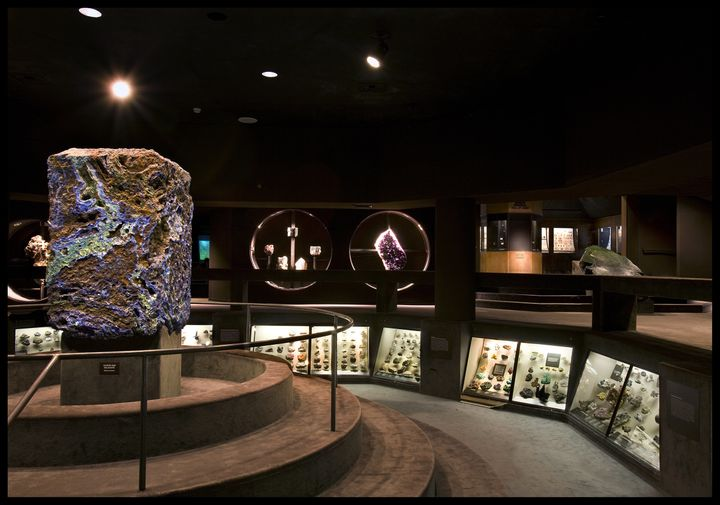 The Guggenheim Hall of Minerals.