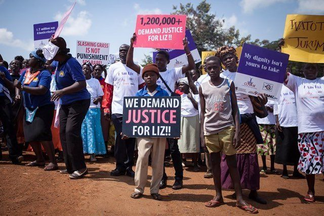 Saida Ali's 'Justice For Liz' campaign gained worldwide attention in 2013.