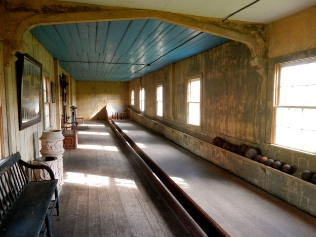 1846 Bowling Alley, Roseland Cottage, Woodstock CT