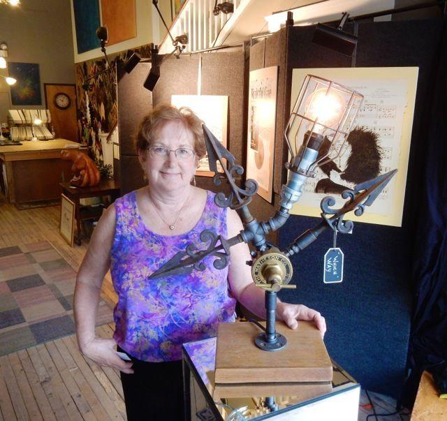 Sheri Sochor, Arts & Framing Sochor Art Gallery, Putnam CT