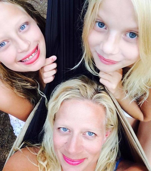 """Camping with my mini-me's."" -- <i>Marcy Sunshine Madson</i>"
