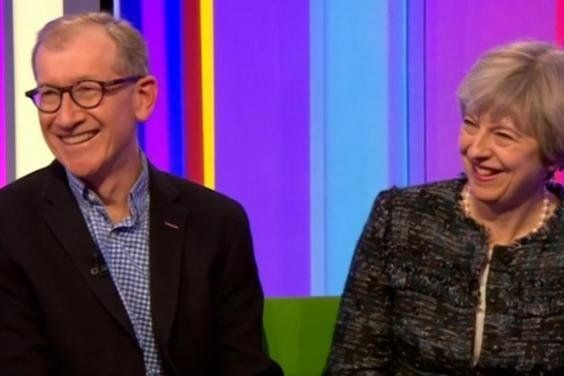 Theresa May Tells The One Show There Are 'Boy And Girl' Jobs At