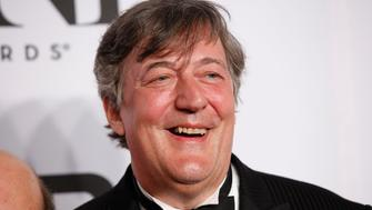 Actor Stephen Fry arrives for the American Theatre Wing's 68th annual Tony Awards at Radio City Music Hall in New York, June 8, 2014. REUTERS/Andrew Kelly  (UNITED STATES - Tags: ENTERTAINMENT)