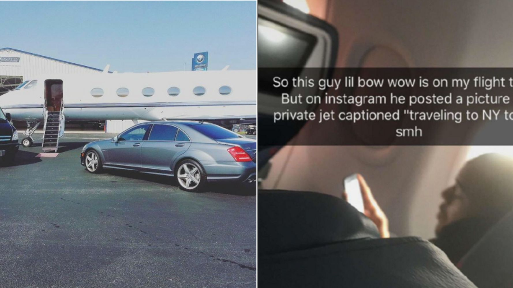 Twitter Just Caught Bow Wow Lying About His 'Private Jet'