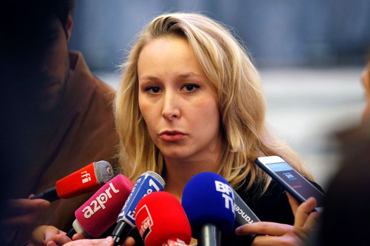National Front MP Marion Maréchal-Le Pen said she was stepping away from political life following Sunday's vote.