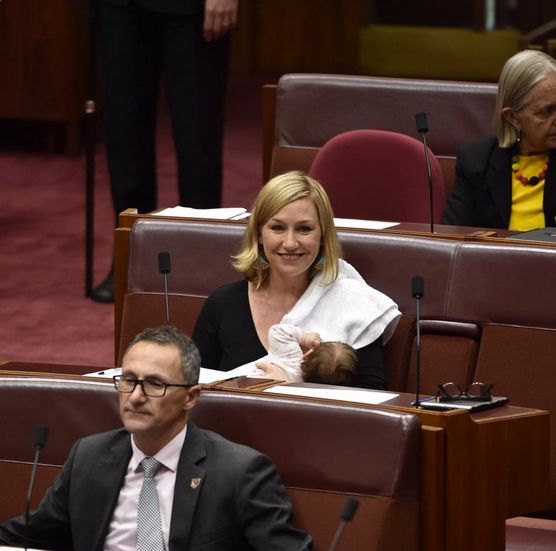 Australian Senator Becomes First To Breastfeed On Parliament