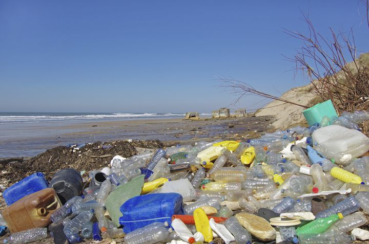Plastic waste is a major and growing problem in the world's oceans.