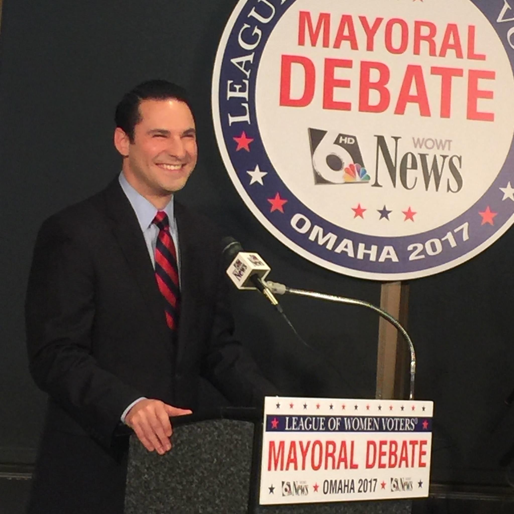 Democrat Heath Mello fell short of defeating the Republican mayor of Omaha.