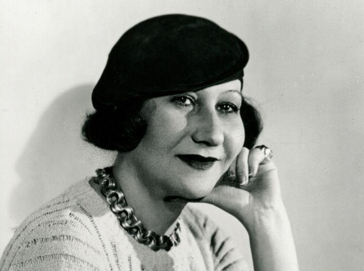 <em>Galka Scheyer, Seated with Beret,</em> c. 1930