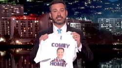 Jimmy Kimmel On James Comey's Firing: 'This Is The Kind Of Thing Dictators