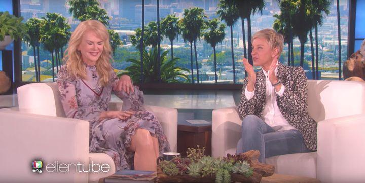 Nicole on 'Ellen'