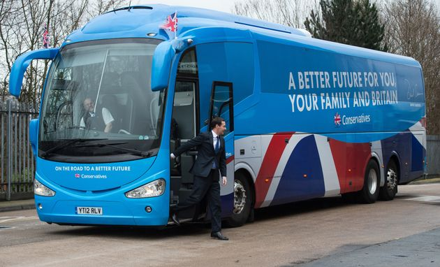 The Conservatives were being investigated for their spending on