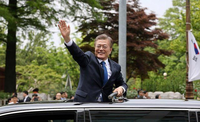Korea big task for Moon